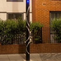 St Paul's Way Lamp Column, London