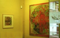 Commissioned works for the Crosscorner Arts Centre Foyer
