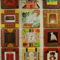 Exhibition of student's work, St Joseph's School
